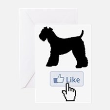 Kerry-Blue-Terrier20 Greeting Card