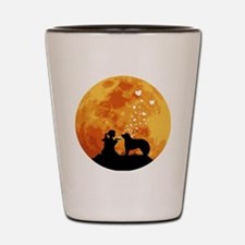 Kuvasz22 Shot Glass
