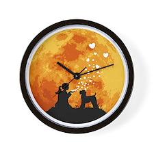 Kerry-Blue-Terrier22 Wall Clock