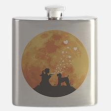 Kerry-Blue-Terrier22 Flask