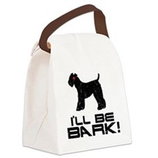 Kerry-Blue-Terrier24 Canvas Lunch Bag