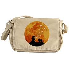 Keeshond22 Messenger Bag