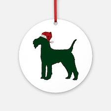 Lakeland-Terrier23 Round Ornament