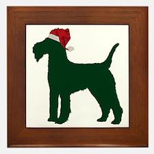 Lakeland-Terrier23 Framed Tile