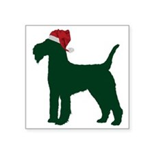 "Lakeland-Terrier23 Square Sticker 3"" x 3"""