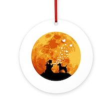 Lakeland-Terrier22 Round Ornament