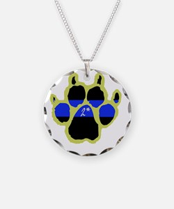 Yellow Paw  2Ass (Paw Enforc Necklace