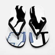 Lakeland-Terrier26 Flip Flops