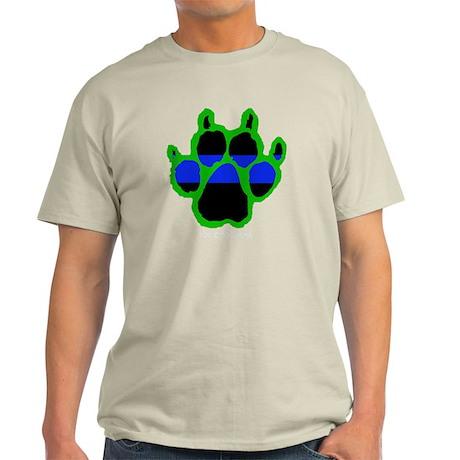 Green Paw (Paw Enforcement- dark) F Light T-Shirt