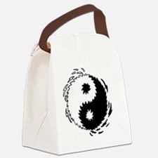 2-ying yang copy Canvas Lunch Bag