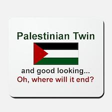 Palestine Twins-Good Lkg Mousepad