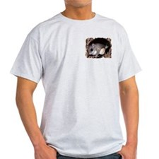 Flying Squirrel in Tree Ash Grey T-Shirt