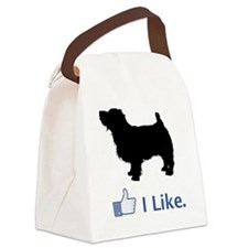 Norfolk-Terrier01 Canvas Lunch Bag