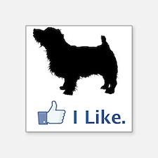 """Norfolk-Terrier01 Square Sticker 3"""" x 3"""""""