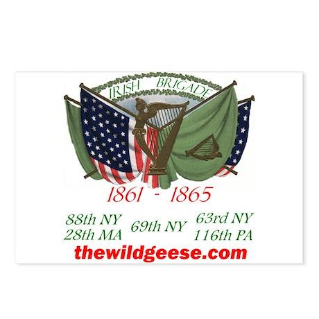 Irish Brigade / Postcards (Package of 8)