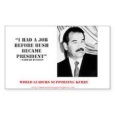 The Saddam Decal