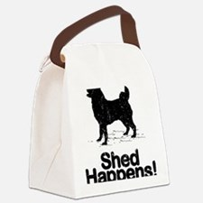 Norwegian-Elkhound09 Canvas Lunch Bag