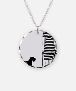 Miniature-Schnauzer11 Necklace
