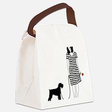 Miniature-Schnauzer11 Canvas Lunch Bag