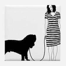 Neapolitan-Mastiff11 Tile Coaster