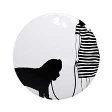 Neapolitan-Mastiff11 Round Ornament