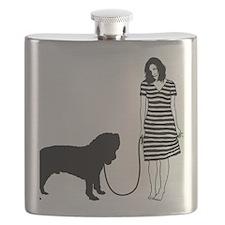 Neapolitan-Mastiff11 Flask