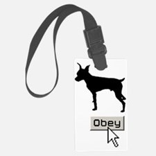 Miniature-Pinscher15 Luggage Tag