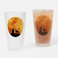 Mountain-Cur22 Drinking Glass