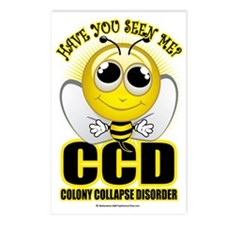 Colony-Collapse-Disorder Postcards (Package of 8)