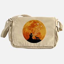 Miniature-Bull-Terrier22 Messenger Bag