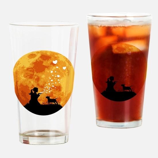 Miniature-Bull-Terrier22 Drinking Glass