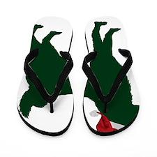 Norwegian-Elkhound23 Flip Flops