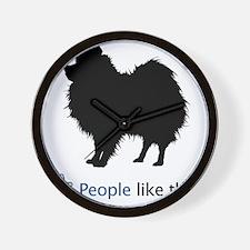 Pomeranian03 Wall Clock