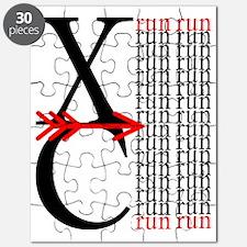XC Run Red Black Puzzle