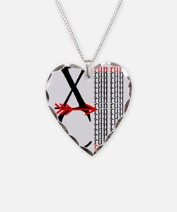 XC Run Red Black Necklace