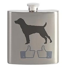 Patterdale-Terrier07 Flask
