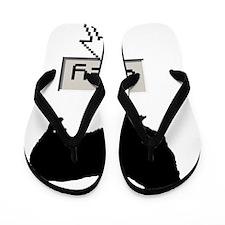 Pembroke-Welsh-Corgi15 Flip Flops