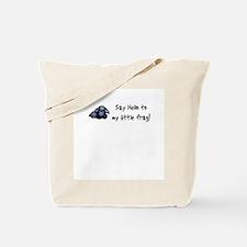 Hello Frag Tote Bag