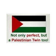 Palestine Twins-Perfect Rectangle Magnet