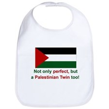 Palestine Twins-Perfect Bib