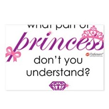princess Postcards (Package of 8)