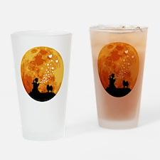 Pomeranian22 Drinking Glass