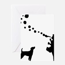 Parson-Russell-Terrier28 Greeting Card