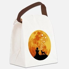 Patterdale-Terrier22 Canvas Lunch Bag