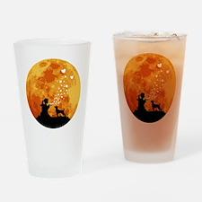 Patterdale-Terrier22 Drinking Glass