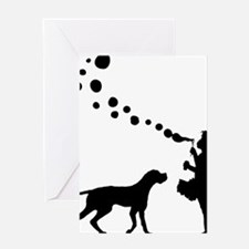 Pointer28 Greeting Card