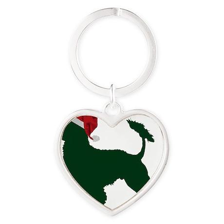 Portuguese-Water-Dog23 Heart Keychain