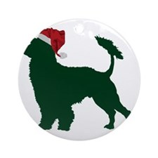 Portuguese-Water-Dog23 Round Ornament