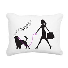Portuguese-Water-Dog32 Rectangular Canvas Pillow