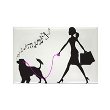 Portuguese-Water-Dog32 Rectangle Magnet